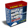 Thumbnail How To Create A Minisite In 30 Minutes Or Less!